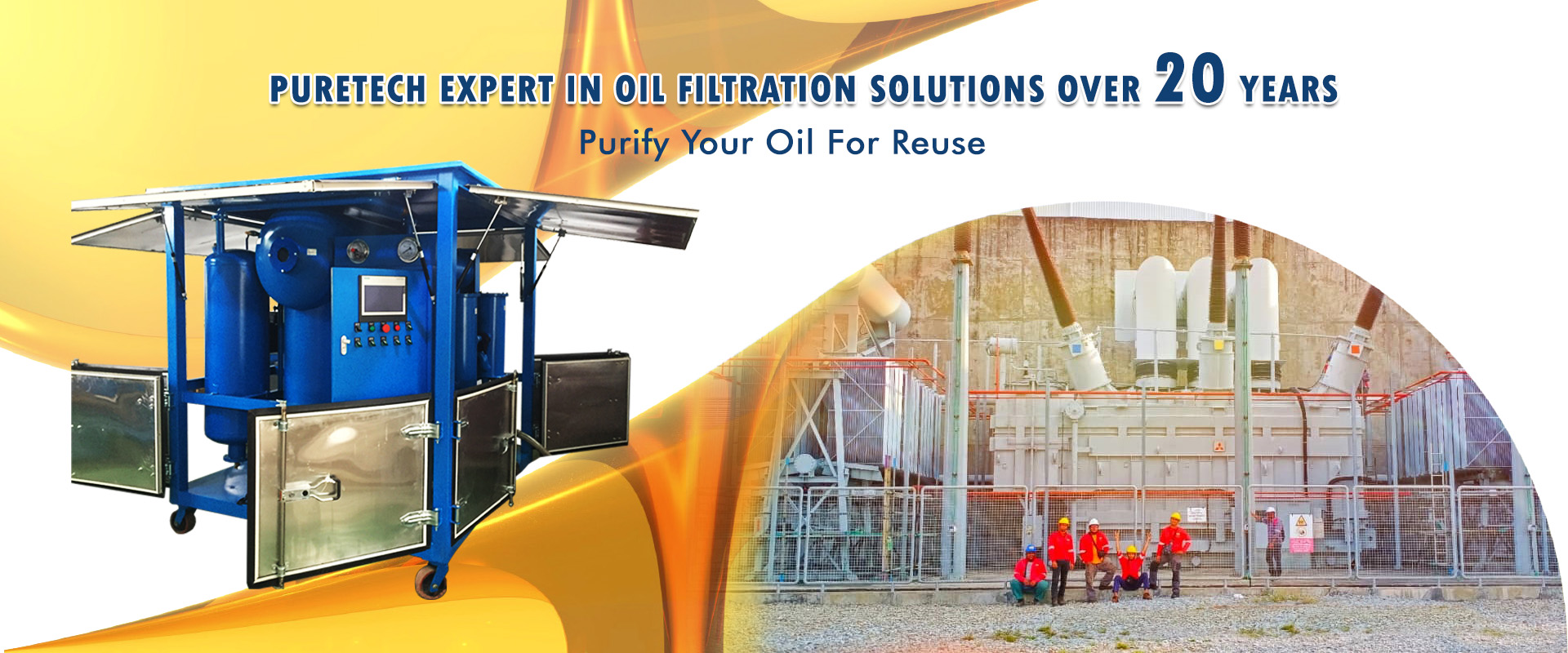 PureTech is a manufacturer of transformer oil purifiers and oil filtration machines.