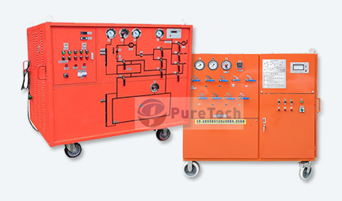 sf6 gas recovery machine