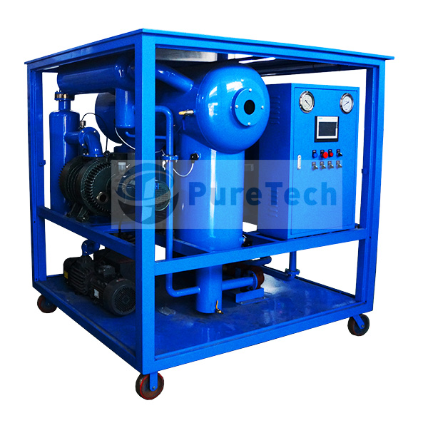 transformer <a href=https://www.cqpuretech.com/Double-Stage-Vacuum-Transformer-Vacuum-Oil-Purifier.html target='_blank'>Oil Purifier</a> for transformer maintenance and installation