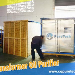 Weather-Proof Type Transformer Oil Purifier