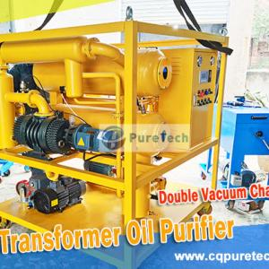 Delivery of PureTech High Efficiency Transformer Oil Purifier