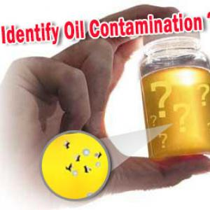 How To Identify Oil Contamination ?