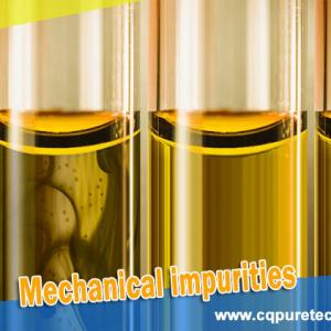 What is mechanical impurities in transformer oil