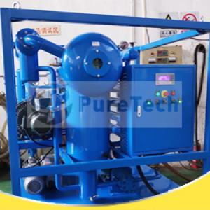 Transformer Oil Treatment Plant Under Testing Before Delivery