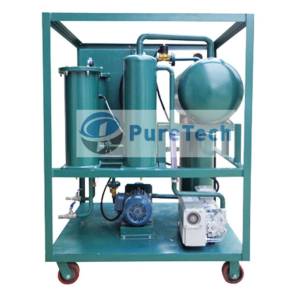 1000LPH Single Vacuum Transformer Oil Purifier