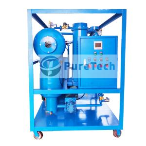 2000LPH Turbine Oil Filtration Machine