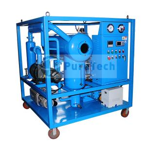 2000LPH Vacuum Transformer Oil Filter Plant