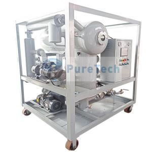 4000LPH Thermal-Vacuum Transformer Oil Purification