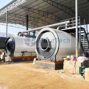 Continuous Tyre Pyrolysis Plant To Fuel