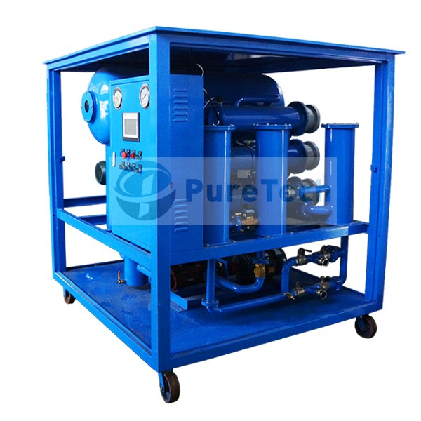 DVOP Double Stage High Vacuum Transformer Oil Purifier