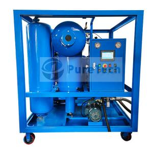 Double Stage High Vacuum Transformer Oil Regeneration Machine