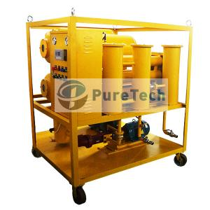 Double Stage Vacuum High-Efficiency Transformer Oil Filtration System