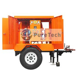 Mobile Single Vacuum Transformer Oil Filtration