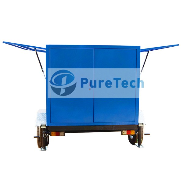 Mobile Transformer Oil Online Regeneration Plant