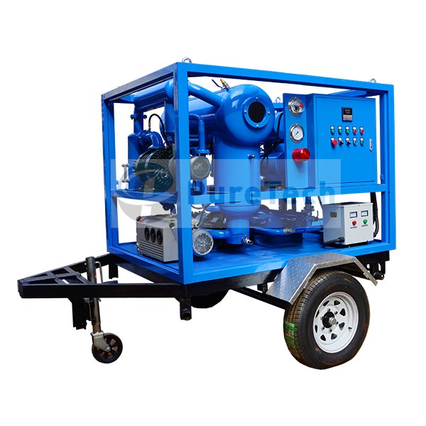 Mobile Type Thermo Vacuum Transformer Oil Purifier