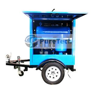 Mobile Vacuum Transformer Oil Filtration Machine