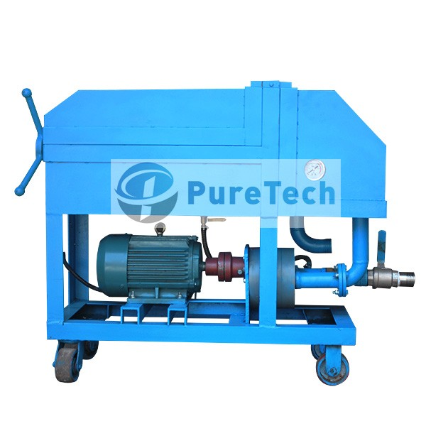 PF Plate Frame Oil Filtration Device