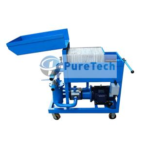 Portable Oil Filter Press Machine
