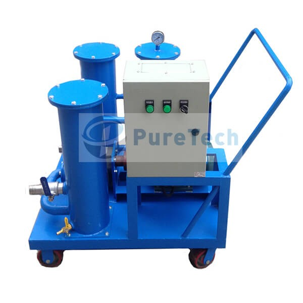 Portable Oil Filter Pump Cart