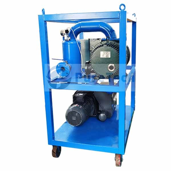 Vacuum Pumping Unit for Drying Transformer