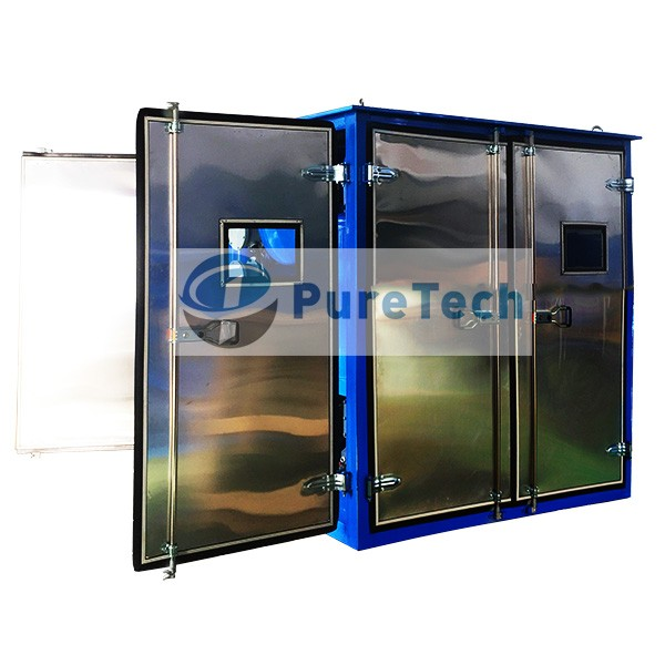 Weather-Proof Enclosed Vacuum Transformer Oil Purifier